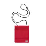 Portadocumenti da collo - XL - rosso - Durable