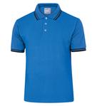 Polo a maniche corte Agra - cotone - taglia XL - blu - Deltaplus
