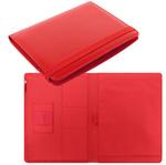 Portablocco Metropol - similpelle - 32x24,5x2,6cm - rosso - Filofax