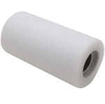 Tulle in rotolo - bianco - 12,5cmx25mt - Big Party