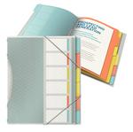 Libro monitore - 6 divisori - multicolore - colour\lce - Esselte