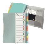 Libro monitore - 12 divisori - multicolore - colour\lce - Esselte