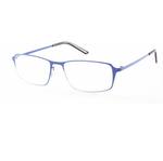 Occhiale Titan - diottrie +3,50 - metallo - blu - Lookkiale
