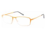 Occhiale Titan - diottrie +1,50 - metallo - arancio - Lookkiale