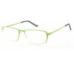 Occhiale Titan - diottrie +3,00 - metallo - verde - Lookkiale