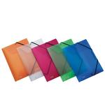 Cartella 3L con elastico Lumina - 24x32cm - colori assorititi - D2,5 - Favorit