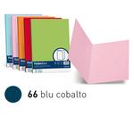 Cartelline semplici Luce - 200 gr - 25x34cm - blu cobalto - Favini - conf. 50 pezzi