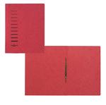Cartella con pressino - cartone - A4 - rosso - Pagna