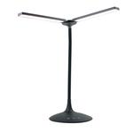 Lampada da tavolo a led Twin - 34x36x18 cm - nero - Alba