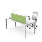 Pannello fonoassorbente - 137x39 cm - Verde - Softwall