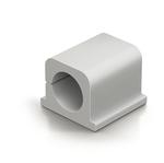 Clip Cavoline® PRO fermacavi - per 2 cavi - adesiva - grigio - Durable - conf. 4 pezzi