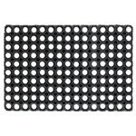 Zerbino Gummy -50x100cm - nero - Velcoc