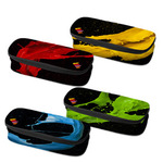 Astuccio ovale Colorosa - 13x9x5cm - colori assortiti - Ri.Plast