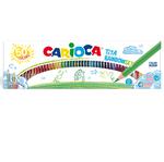 Matite colorate Tita Rainbow - 50 matite - colori assortiti - Carioca