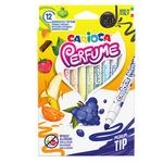 Pennarelli Perfume - punta 4,0mm - colori assortiti  - Carioca - astuccio 12 pezzi
