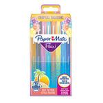 Pennarello Flair Nylon punta feltro - Papermate - astuccio 16 colori Tropical