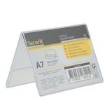 Display a V in plastica - 7,8x10,6x6,7 cm (A7) - Securit