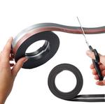 Rotolo durafixrollmt adesivo - mt - 21x29,7cm - Nero - Durable
