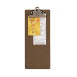 Porta Conto -  in legno - 27,7x11,4cm - Securit