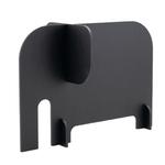 Lavagna Silhouette - 14,3x19,8x10 cm - nero - forma elefante - Securit