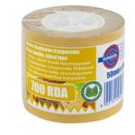 Nastro biadesivo 700RDA - 50mmx10mt - in termo singolo + etichetta - trasparente -Eurocel