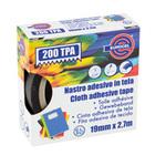 Nastro adesivo telato TPA 200 - Bianco - 19mmx2,7mt - Eurocel
