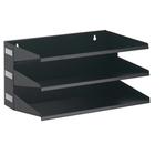 Portadocumenti Sorter Rack - 36x20,5x25 cm - 3 scomparti - nero - Durable