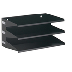 Portadocumenti Sorter Rack - 36x20,5x25 cm - 3 scomparti - nero - Durable