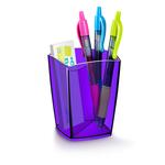 Bicchiere portapenne 530H - 7,4x7,4x9,5 cm - deep purple - Cep