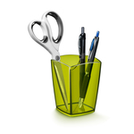 Bicchiere portapenne 530H - 7,4x7,4x9,5 cm - bamboo green - Cep