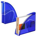 Portariviste 674+H - 27x8,5x31 cm - 24x32 cm - electric blue - Cep