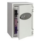 Cassaforte ignifuga FS0442K - 90x52x52 cm - 84 lt - per carta  - supporti - bianco - Phoenix