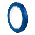 Nastro adesivo PVC 350 - 9 mm - blu - Eurocel - rotolo da 66 mt