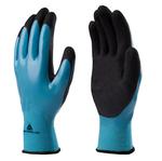 Guanto wet&dry VV636BL - poliammide - palmo in nitrile - taglia 09 - blu/nero - Deltaplus