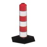 Delineatore stradale - flessibile - inserti rifrangenti - 33 cm