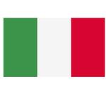 Bandiera Italia - poliestere nautico - 100x150 cm