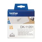 Brother - Rotolo - Nero/Bianco - 400 Etichette - 29 x 90mm