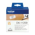 Brother - Rotolo - Nero/Bianco - 800 Etichette 29 x 62mm