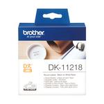 Brother - Rotolo - 1000 Etichette circolari adesive - diametro 24mm