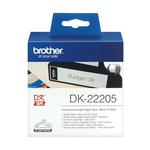 Brother - Rotolo etichetta continua - Nero/Bianco - 62mm x 30,48mt