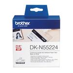Brother - Nastro non adesivo - Nero/Bianco - 54mm x 30,48mt