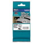 Brother - Nastro laminato flessibile - Nero/Bianco - TZEFX251 - 24mm x 8mt
