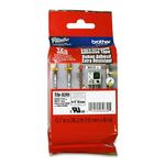 Brother - Nastro con adesivo resistente - Nero/Bianco - TZES241 - 18mm x 8mt