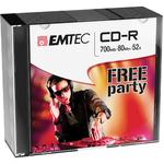 Emtec - CD-R - ECOC801052SL - 80min/700mb