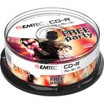 Emtec - CDR - 80min/700mb, 52x, spindle - conf. 25 pz