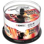 Emtec - CDR - 80min/700mb, 52x, spindle - conf. 50 pz