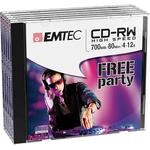 Emtec - CD-RW - ECOCRW80512JC - 80min/700mb