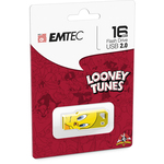 Emtec - Memoria Usb 2.0 - Tweety - ECMMD16GM752L100 - 16GB