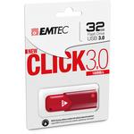 Emtec - Memoria Usb 3.0 - Rosso - ECMMD32GB103R - 32GB