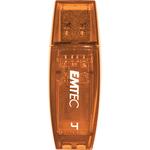 Emtec - Memoria Usb 2.0 - Arancione - ECMMD4GC410 - 4GB